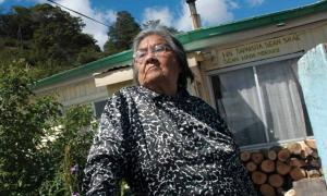 Christina Calderón, last native speaker of the Yaghan language.          Source: SIGPA