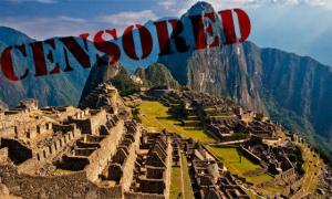 Discovery at Machu Picchu blocked