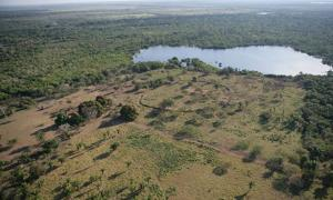 Man made ditches in Brazil - Parana