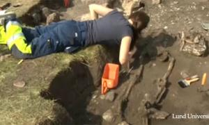 1,500 years old crime scene in Sweden