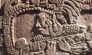 The Maya myth of creation