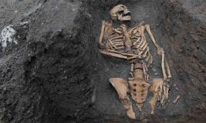 HALF of the Men Found in Medieval Paupers' Cemetery Had Broken Bones