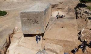 Largest known megalithic block from antiquity revealed at Baalbek