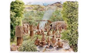 Mesolithic sanctuary