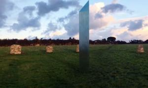 Augmented Reality Monolith At Ancient English Site Confuses UK Press