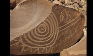 Narigua petroglyphs - Mexico
