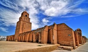 The minaret of the Great Mosque of Kairouan. Source: robnaw / Adobe Stock.
