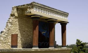 minoan Frescos Israel