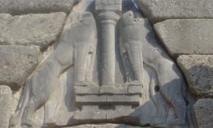 Mycenae Lions Entrance