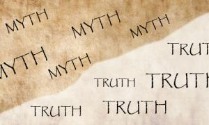 The meaning of the word Myth