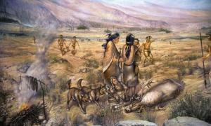 Paleo-Indians: Caribou hunting