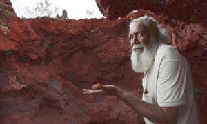Colin Hamlett, a traditional owner of an area of the WA Weld Ranges
