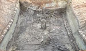 4,000-Year-Old Chariots Discovered in Burial Chamber of Bronze Age Chief