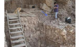 300,000-year-old hearth found In Israel