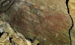 Old Cave Paintings