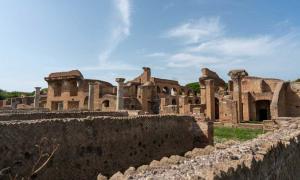 Ostia Antica the first Roman colony. Source: Ioannis Syrigos.