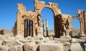The Arch of Triumph or Arch of Septimius Severus, Palmyra, Syria, 2005