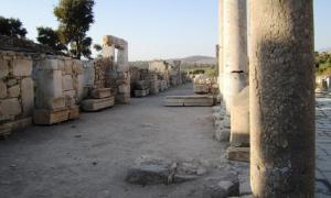 Mythical city of Patara in Turkey