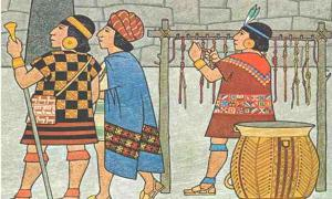 Incas counting gold - Ancient Mathematical Device