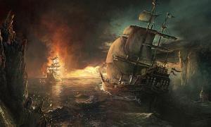Pirates - Thames Shipwreck