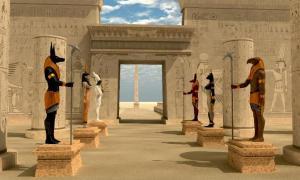 Egyptian gods. Source: Catmando / Adobe Stock