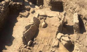 Pre-Roman tomb in Pompeii