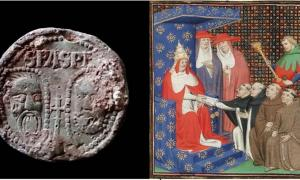 The Pope's seal found in Shropshire, England, (British Museum's Portable Antiquities Scheme) belonged to Pope Innocent IV. (Public Domain)
