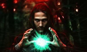 A dark wizard (venerala / Adobe Stock)