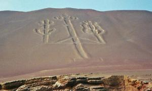 The mysterious prehistoric geoglyph of the Paracas Candelabra