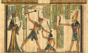Depiction of punishment in ancient Egypt