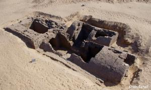 The tomb found in an ancient cemetery in Abydos