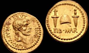 Rare Coin Celebrating Caesar's Assassination Might Fetch £5 Million