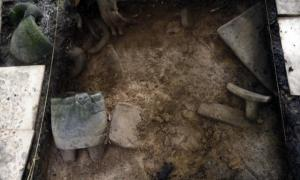 Newly discovered artifacts at ancient ruins in Honduras believed to be the legendary 'White City'.