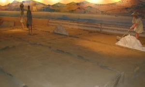 Exhibition showing salt production in Museo do Mar in Vigo, Spain. Source: Natalia Klimczak