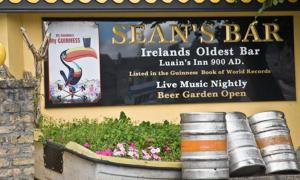 Sean's Bar is located on Main Street, Athlone, on the West Bank of the River Shannon, and was originally known as Luain's Inn.