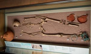 This skeleton was of a woman who was a first generation Londoner with northern European ancestry who was likely born in Britain. She was buried with grave goods that made researchers think she was of high status in her community.