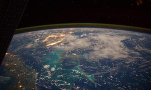 The Caribbean Sea from space
