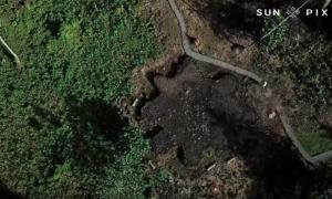 One of many star mounds now revealed on American Samoa.            Source: Tagata Pasifika / Youtube Screenshot