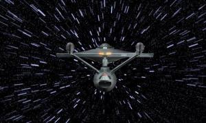Star Trek Warp Travel Space