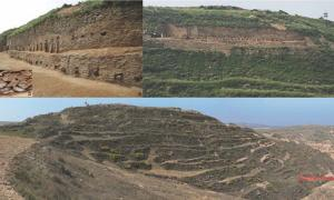 Images of the step pyramid.