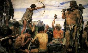 Stone Age Prehistoric Settlement