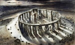Reconstruction drawing of Stonehenge