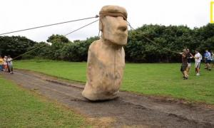 The Cataclysm of Easter Island - Stones Walking