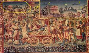 Summer's Triumph Tapestry