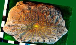 Bronze Age sundial