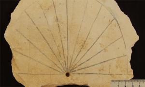 Sundial Egypt Valley of the Kings