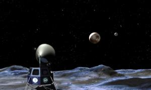 Telescope on Moon's South Pole