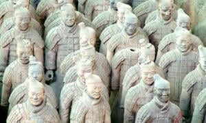 tombs of Terracotta Army