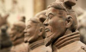 Terracotta Warriors from Tomb of First Emperor, China. Credit: Lukas Hlavac / Adobe Stock