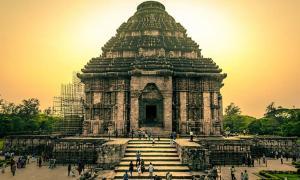 The Konark Sun Temple, India